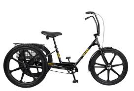 TRIKE ADULT/SUN ATLAS DLX BLK w/blk mag wheels included