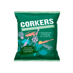 Corkers Crisps Cheddar Cheese & Chives