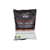 Purple Corn Chips with Peruvian Chili - økologisk