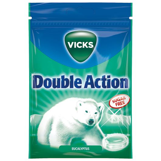 Vicks Double Action Pose
