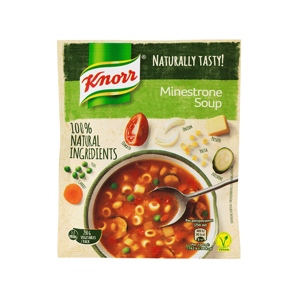 Knorr ministrone suppe