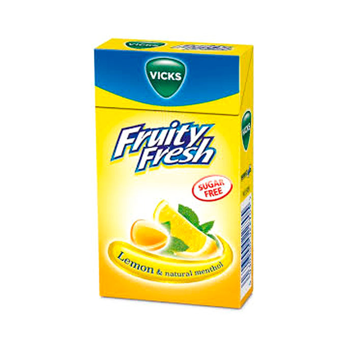 Vicks Fruity Fresh Lemon