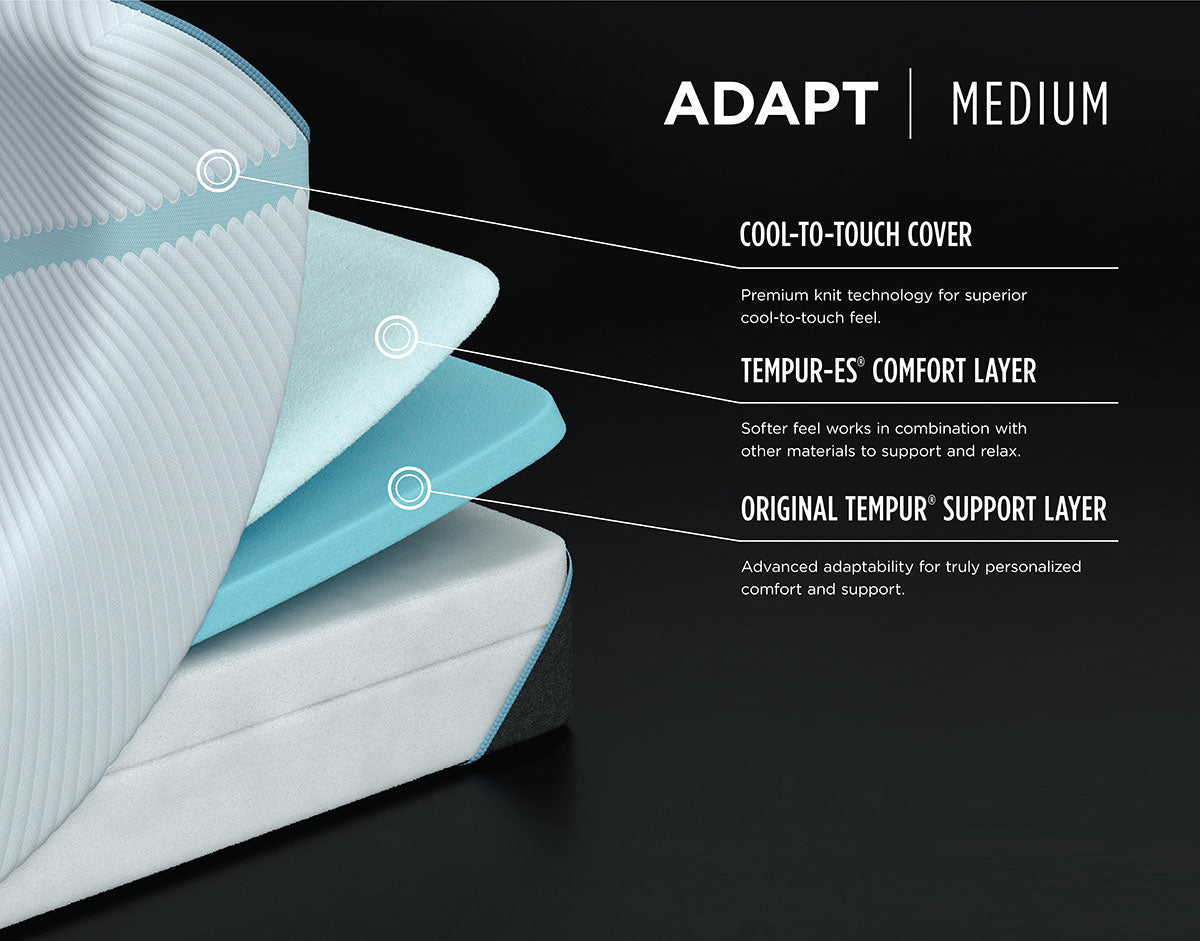 Tempur-Adapt Medium