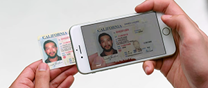 Take a picture of your ID