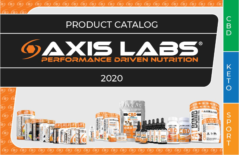 Axis Labs 2020 Product Catalog