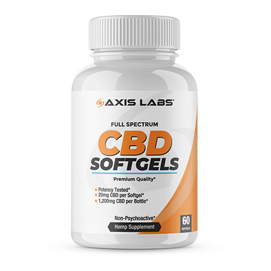 CBD Full Spectrum Softgels