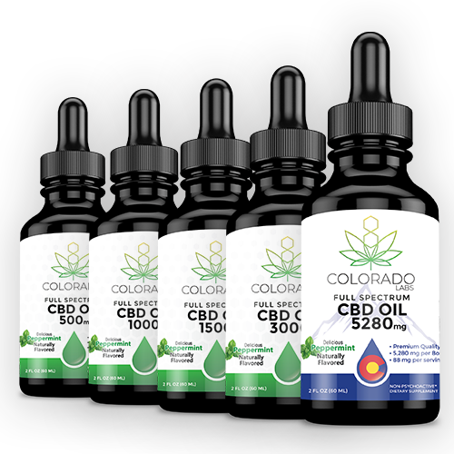 Colorado Labs CBD Oil Full Spectrum 2oz Peppermint