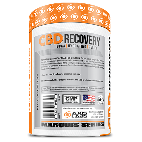 CBD Recovery BCAA 30 Servings