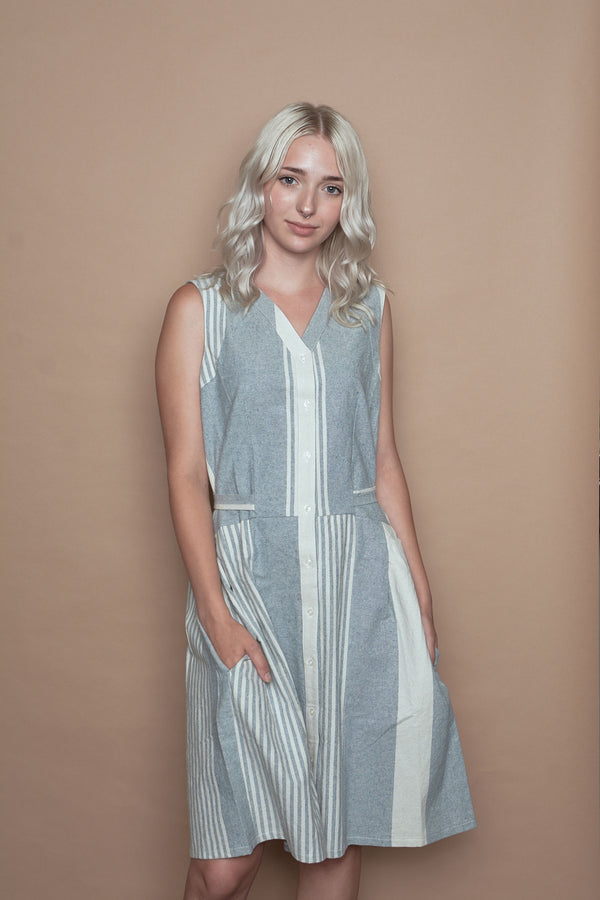 Junie Recycled Denim Dress