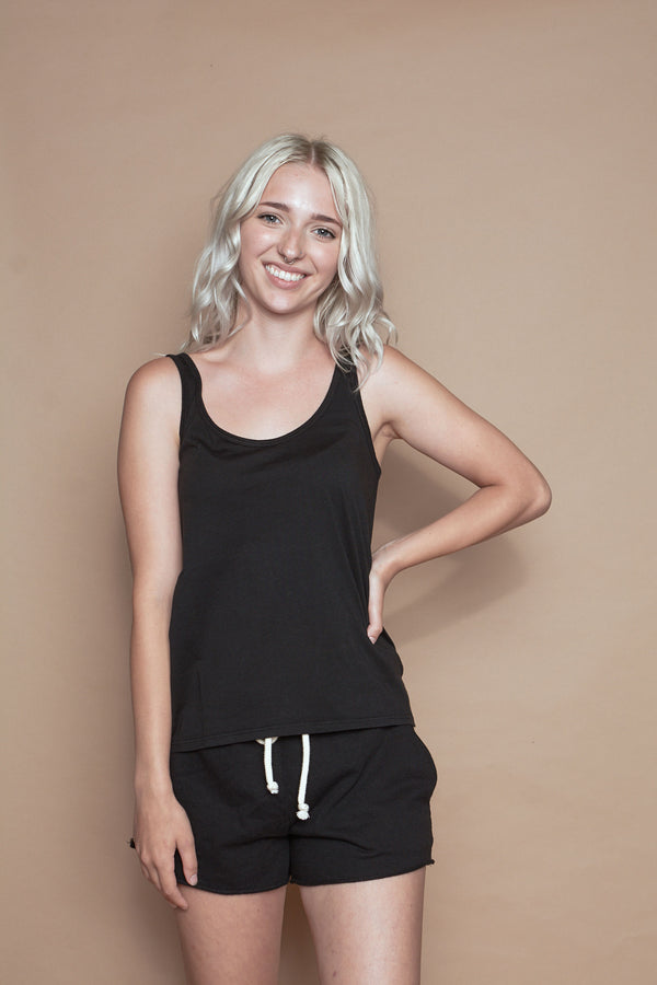 Organic Cotton Layering Tank