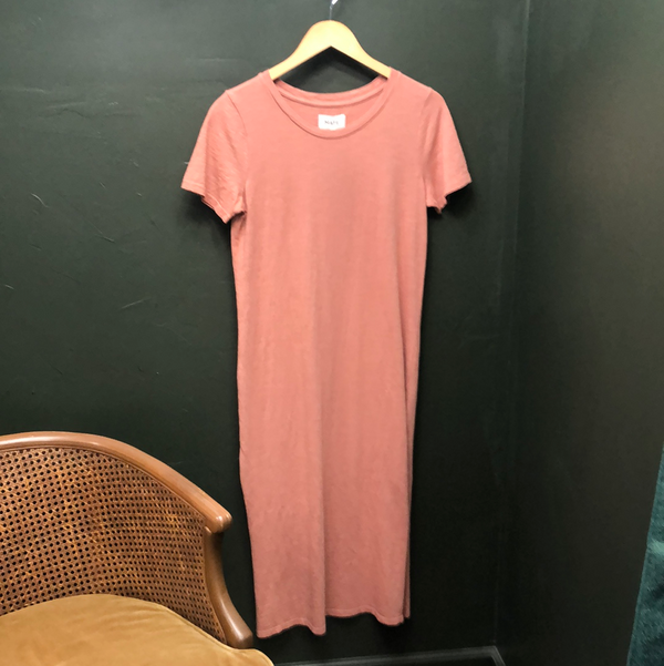 Cotton Tee Dress - Rose