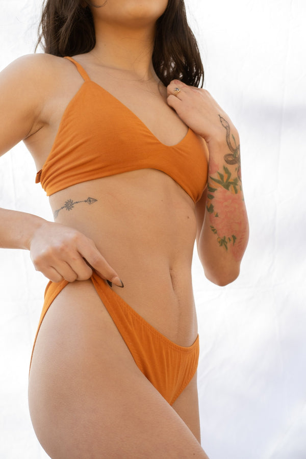Maya Low Waist Undies - Pumpkin