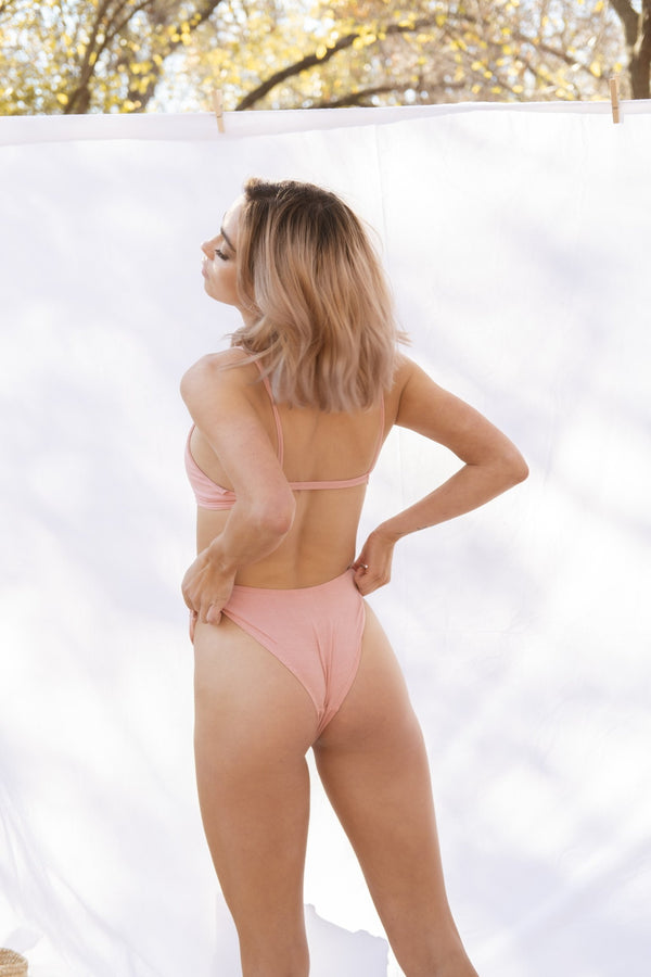 Maya Low Waist Undies - Pink