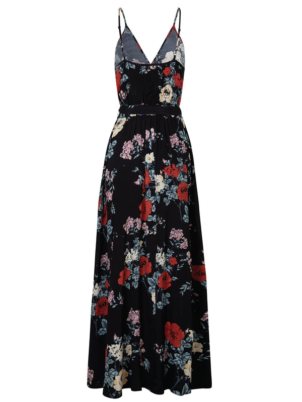 Zinnia Bloom Strappy Maxi