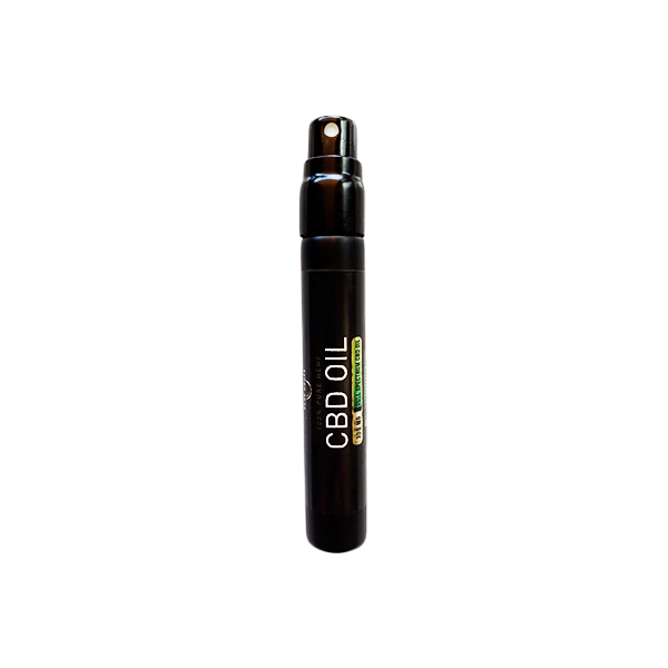 CBD Oral Spray (.17 floz - 5 ml) - Mint Flavor - PureDropsCBD