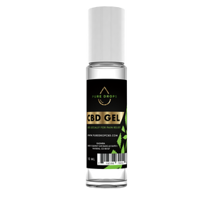 CBD Gel (10ml - .33oz) - PureDropsCBD