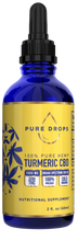 Load image into Gallery viewer, Turmeric Based CBD Oil 1500 mg in 60 ml (2 fl. oz.) - PureDropsCBD