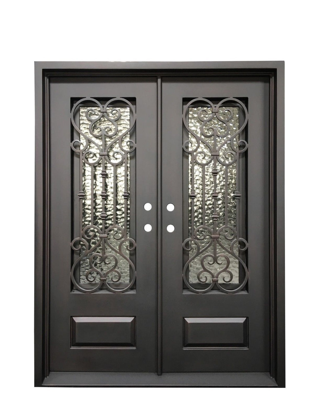 Angellum 61.5x96 Flat Top Iron Door