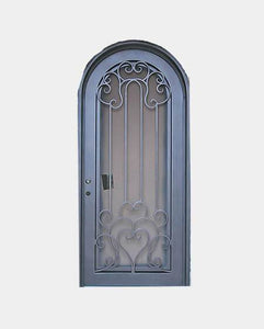 Bossanova 37.5x81 Flat Top Iron Door
