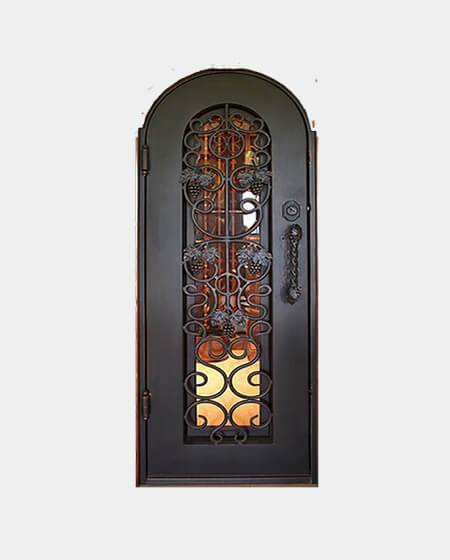 Copia 61.5x81 Flat Top Iron Door