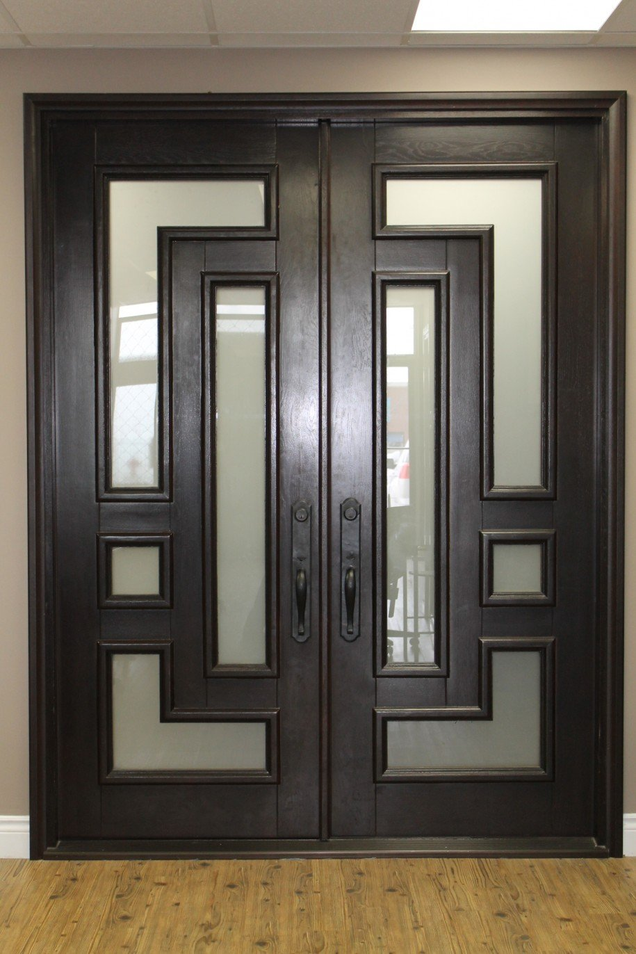 Federal 61.5x81 Eyebrow Arch Iron Door