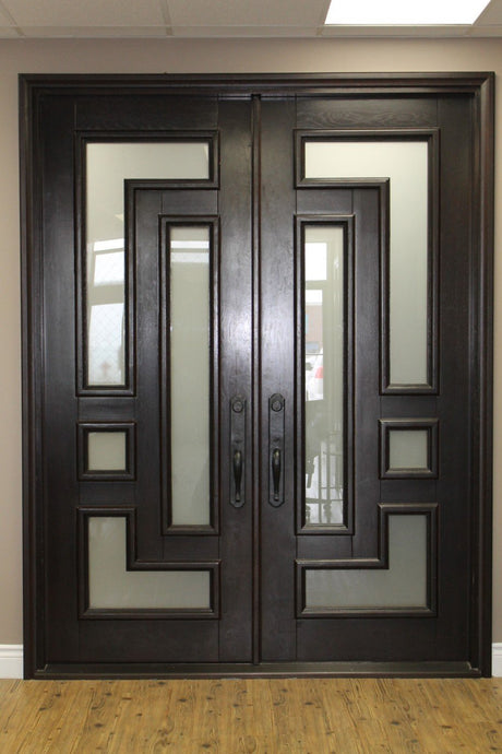 Federal 61.5x81 Flat Top Iron Door