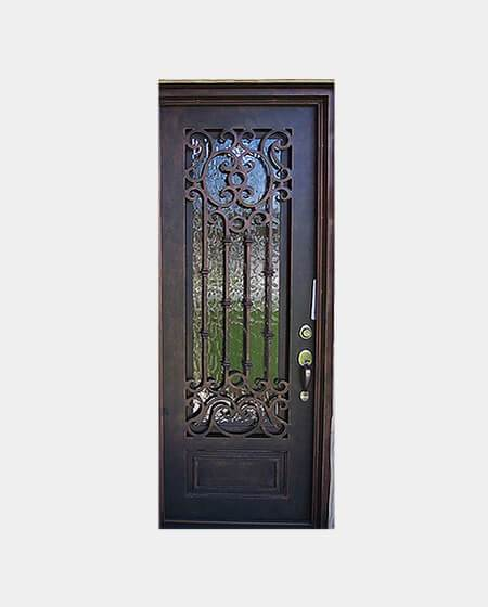 Gala 61.5x81 Flat Top Iron Door