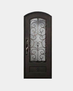Kingston 61.5x81 Half Circle Iron Door