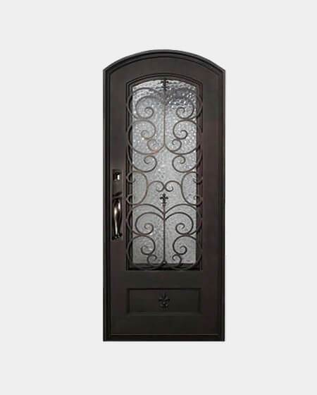Kingston 37.5x81 Flat Top Iron Door