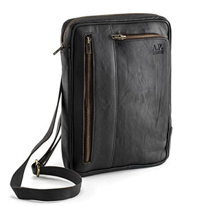 Messenger Bag aus Leder