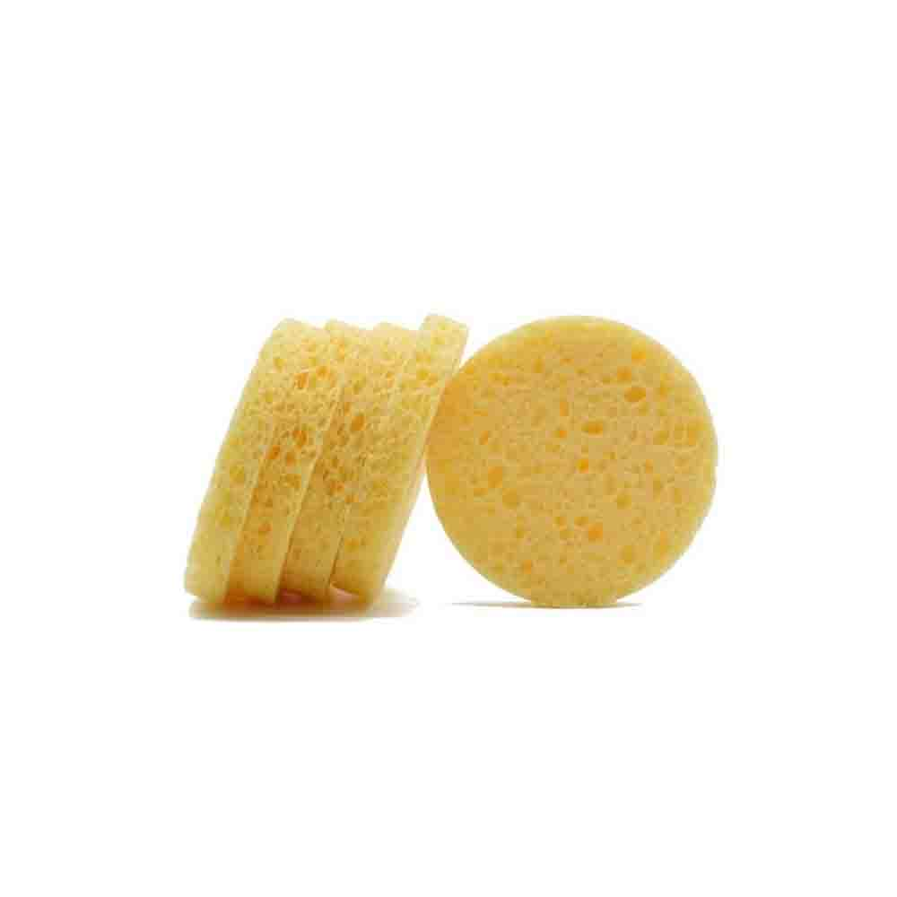 SPONGES COMPRESSED CELLULOSE YELLOW - 24ct