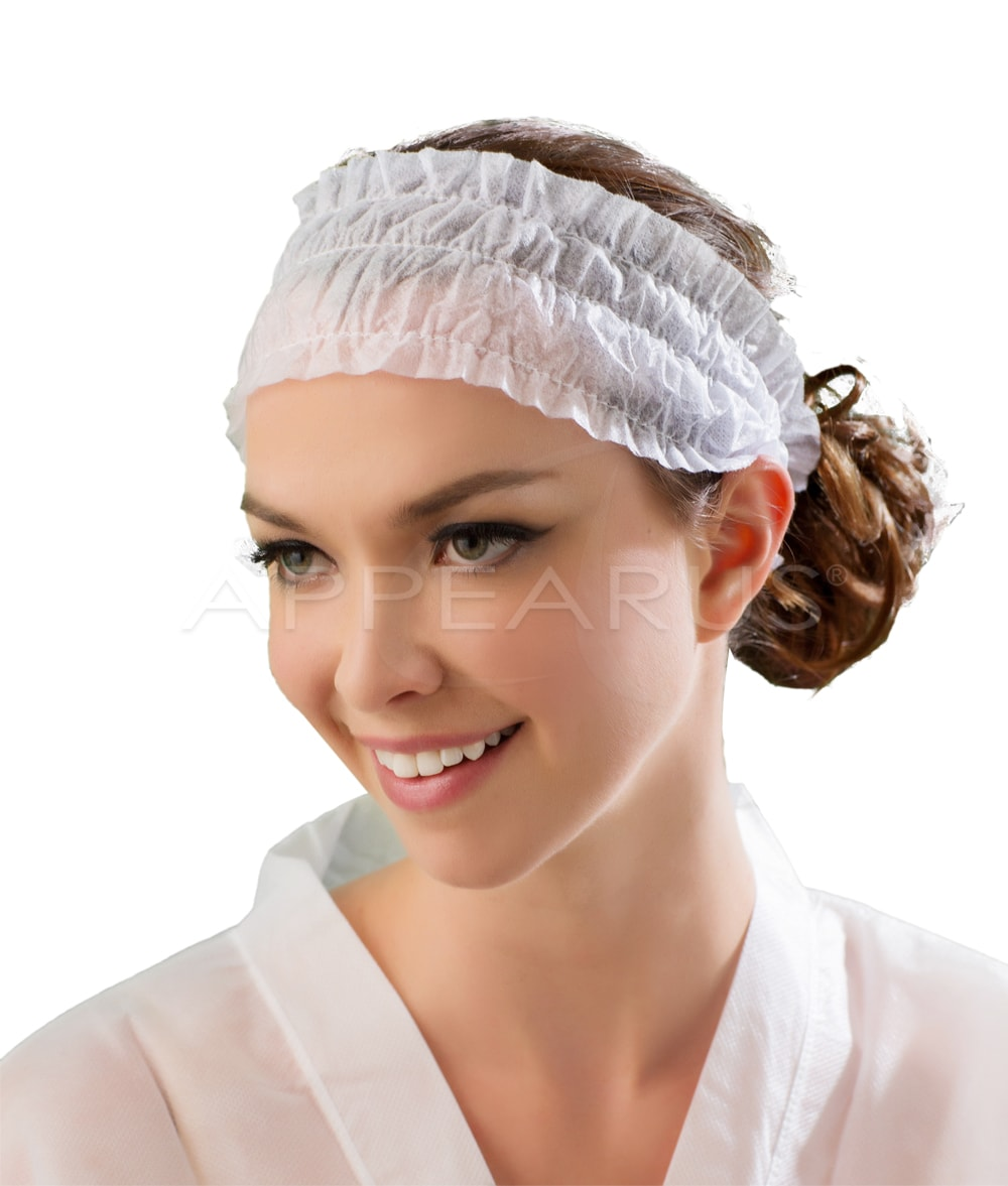 Headbands Disposable Elastic  50/Pk