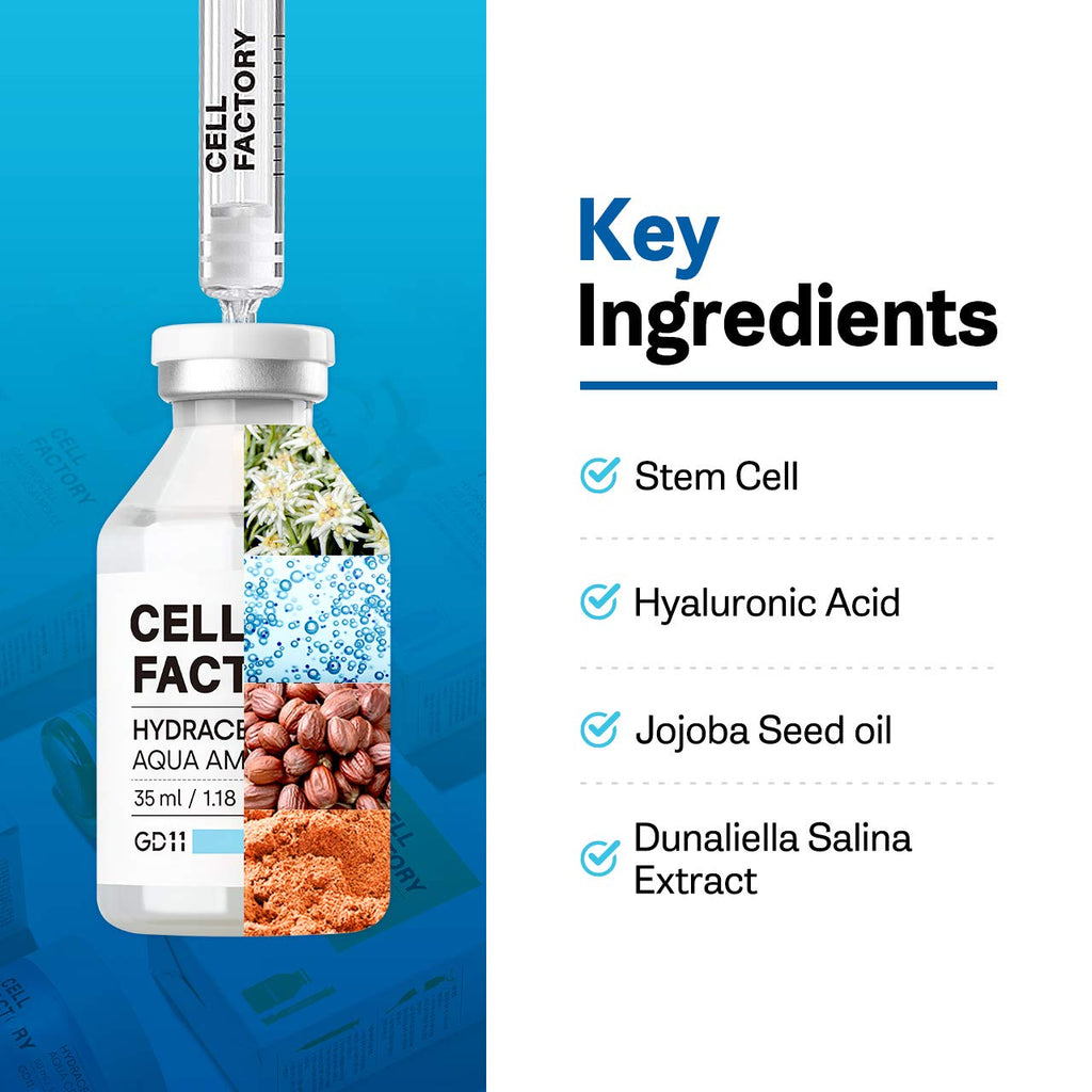CELL FACTORY HYDRACELL AQUA AMPOULE