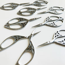 Silver Leaf Embroidery Scissors