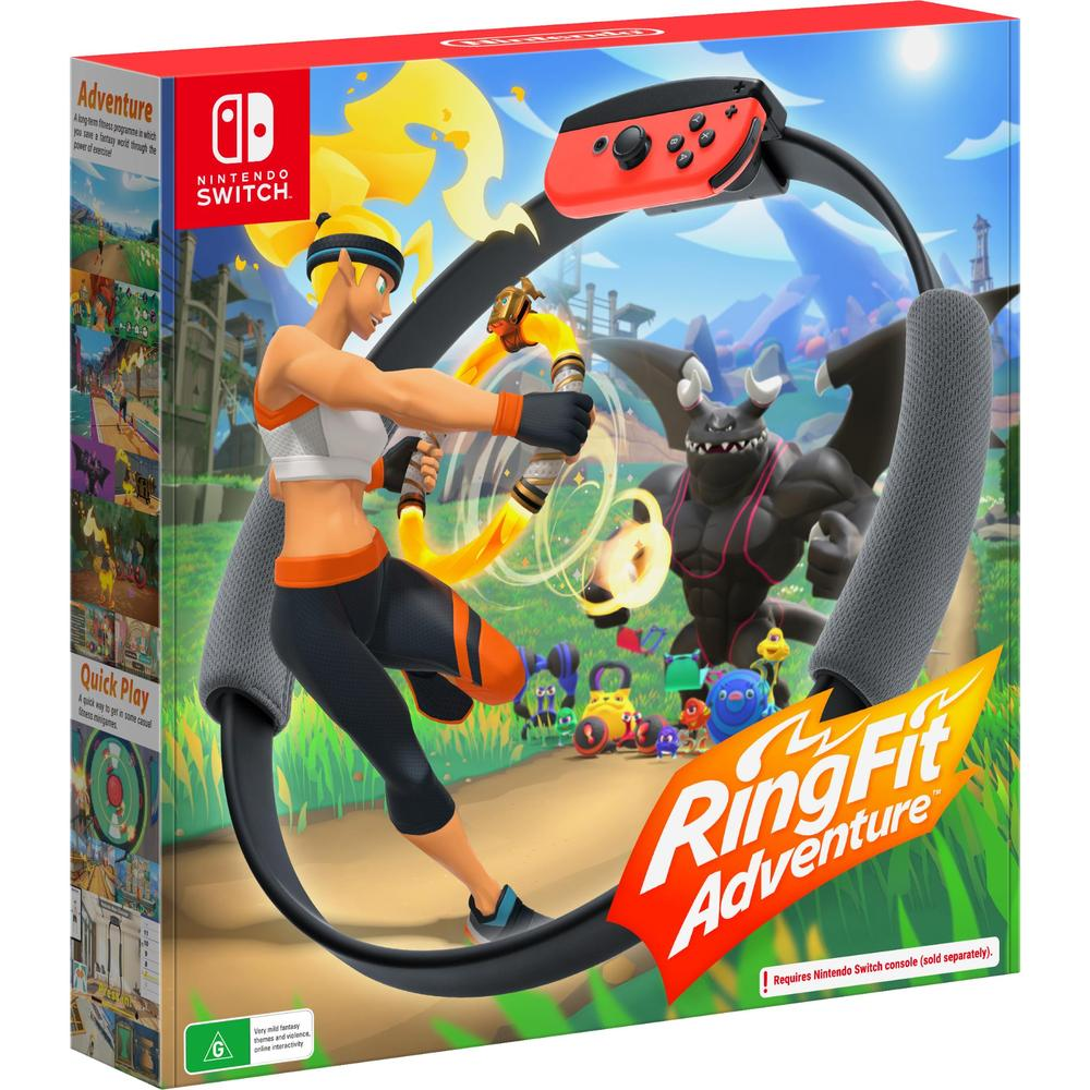 [Au Stock] Ring Fit Adventure for Nintendo Switch