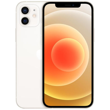 Apple iPhone 12 256GB 5G (White) Model : MGJH3X/A