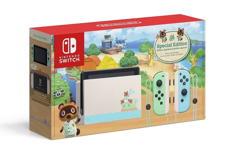 [Au Stock] Nintendo Switch ANIMAL CROSSING: New Horizons Special Edition Console