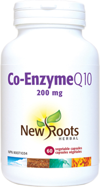 Co-Enzyme Q10 - 200 mg - (Cardiovascular Health, Anti-Oxidant)