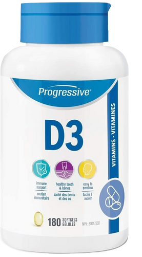 Vitamin D3 (Immune System & Bone Health)