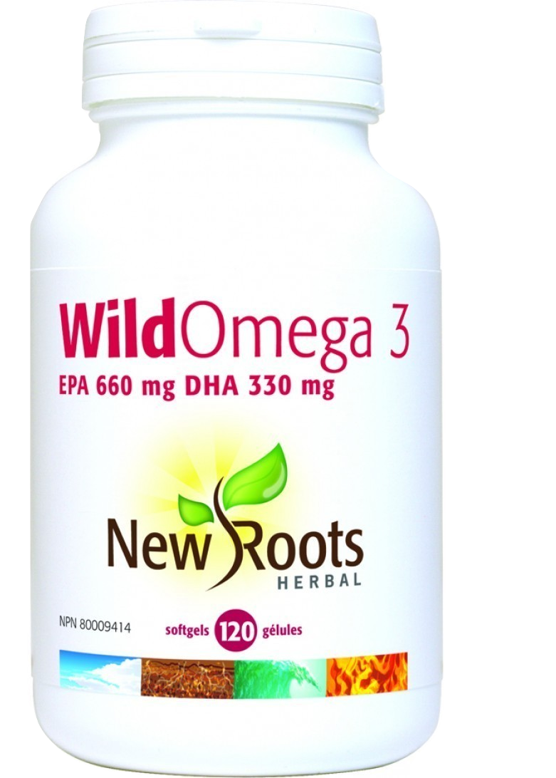 Wild Omega 3 EPA 660 mg DHA 330 mg - (Fish Oil)
