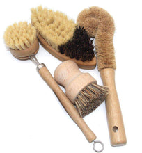 Load image into Gallery viewer, Bamboo and Sisal 4 Piece Brush Set