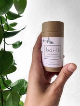 Load image into Gallery viewer, Natural Deodorant - Bai-li WARNING - these can melt easily in the mail if left outside in the heat!