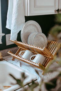 Seconds - Dish Drying Rack - Two-Tier - Bamboo