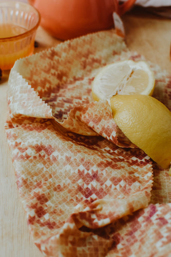 Beeswax Food Wraps - WARNING - these can melt easily in the mail if left outside in the heat!