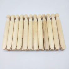 Load image into Gallery viewer, Bamboo Clothespins 24 Pack