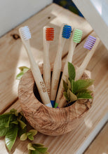 Load image into Gallery viewer, Bamboo Toothbrush - kids