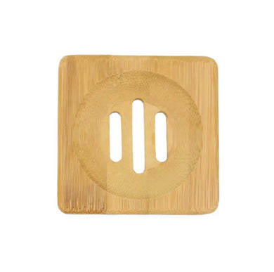 Wooden Soap Dish - Square
