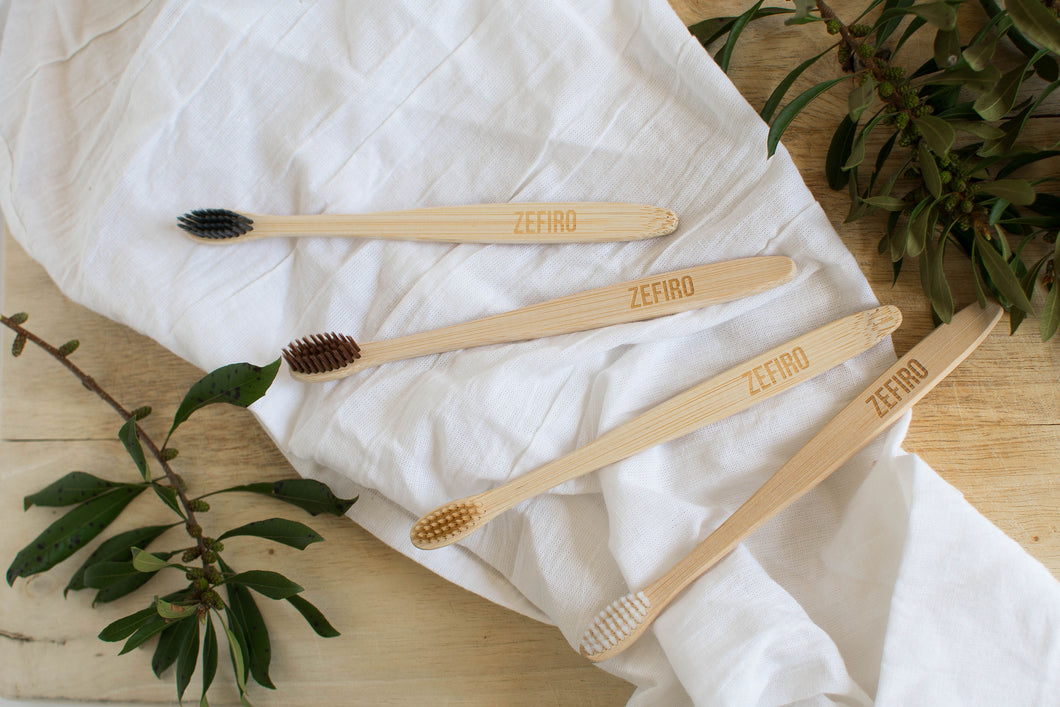 Bamboo Toothbrush - Four pack