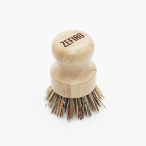 Bamboo and Sisal Scrubber