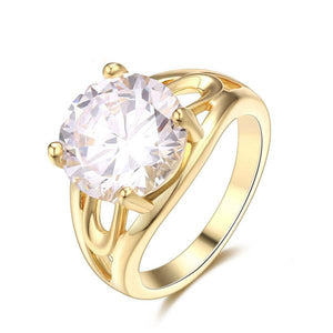 The Queen Gold Fashion Ring #8